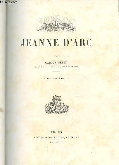 JEANNE D'ARC. 20EME EDITION. 1ERE SERIE.