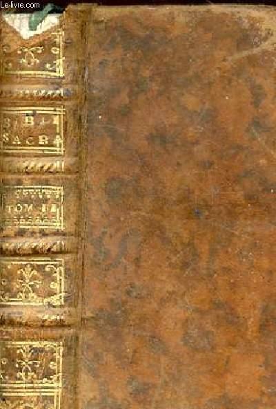 JOSUE LIBER JUDICUM. RUTH. LIBRI REGUM IV. TOMUS II.