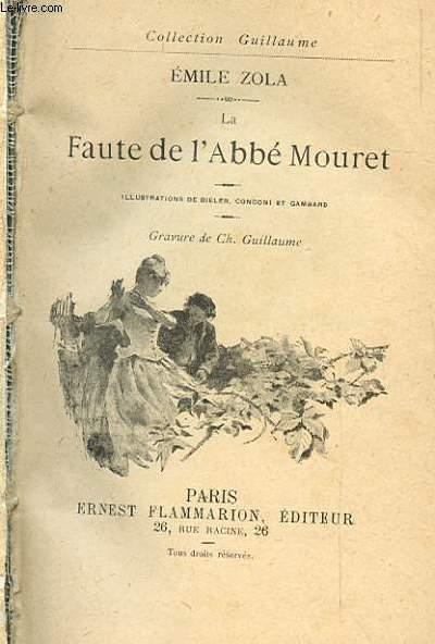 LA FAUTE DE L'ABBE MOURET