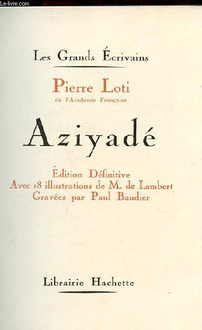 AZIYADE. EDITION DEFINITIVE