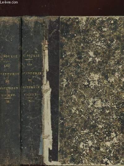 2 TOMES: LES AVENTURES DE SATURNIN FICHET OU LE CONSPIRATION DE LA ROUARIE