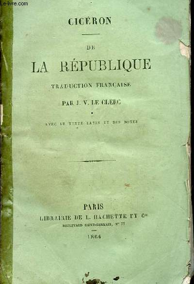 DE LA REPUBLIQUE.