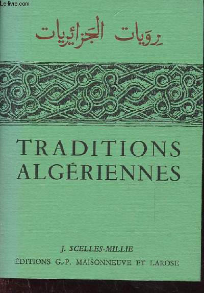 TRADITIONS ALGERIENNES.