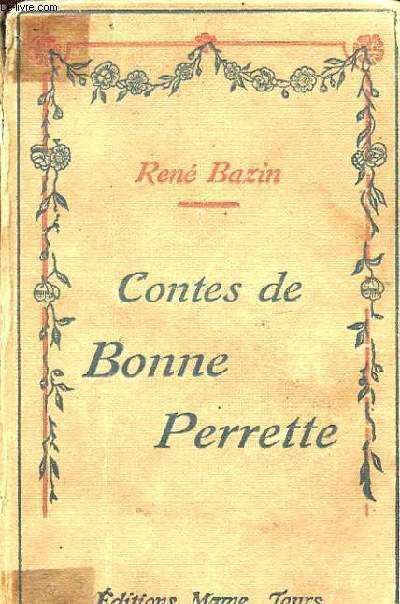 CONTES DE BONNE PERRETTE