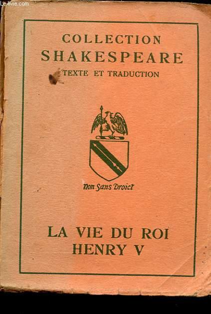 LA VIE DE HENRI V.