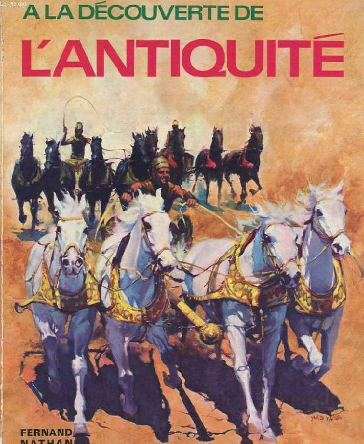 A LA DECOUVERTE DE L'ANTIQUITE