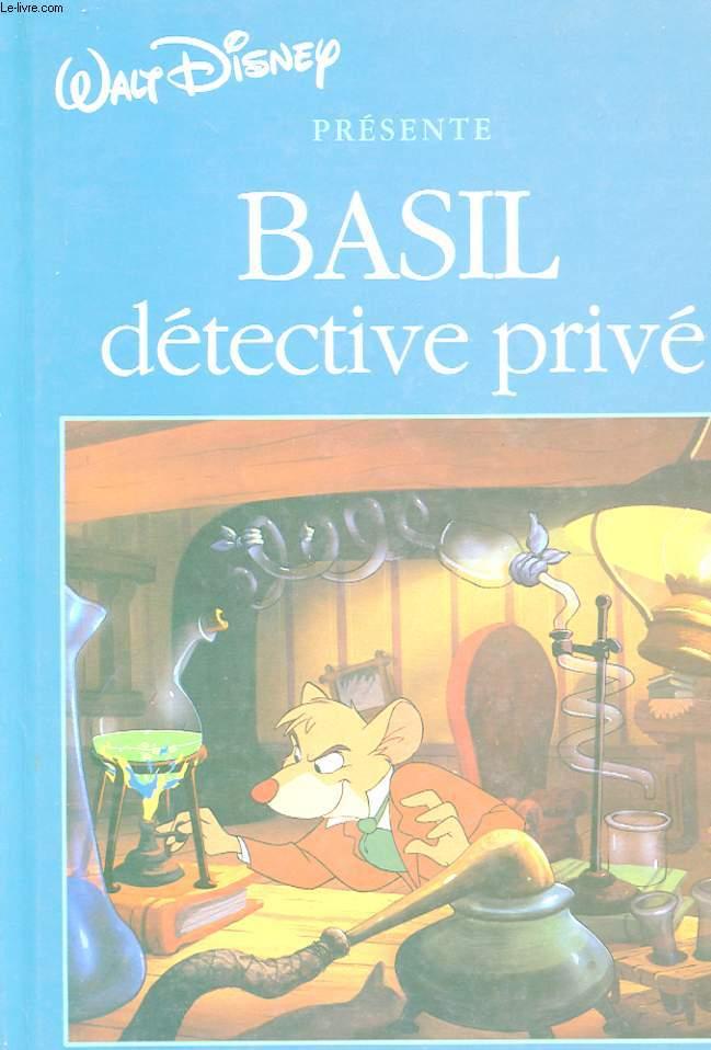 BASIL DETECTIVE PRIVE