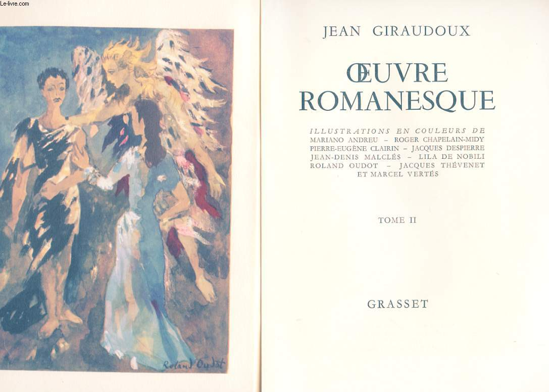 OEUVRES ROMANESQUE EN 2 TOMES