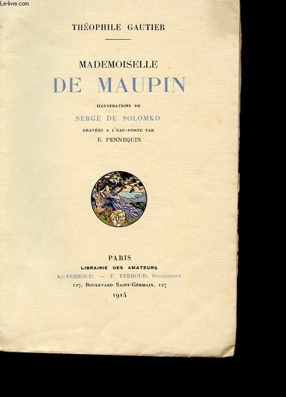 MADEMOISELLE DE MAUPIN. TOME 2.