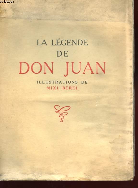 LA LEGENDE DE DON JUAN (LES AMES DU PURGATOIRE)