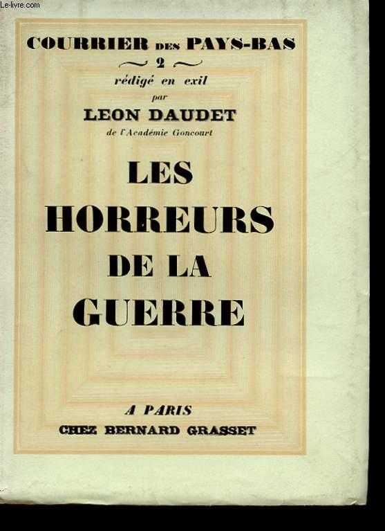 LES HORREURS DE LA GUERRE. COURRIER DES PAYS-BAS 2