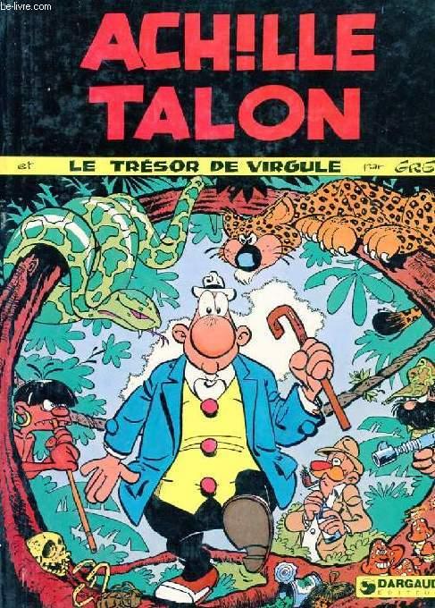 ACHILLE TALON ET LE TRESOR DE VIRGULE