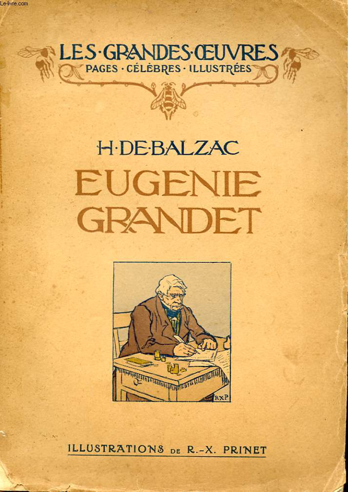 EUGENIE GRANDET. COLLECTION LES GRANDES OEUVRES.