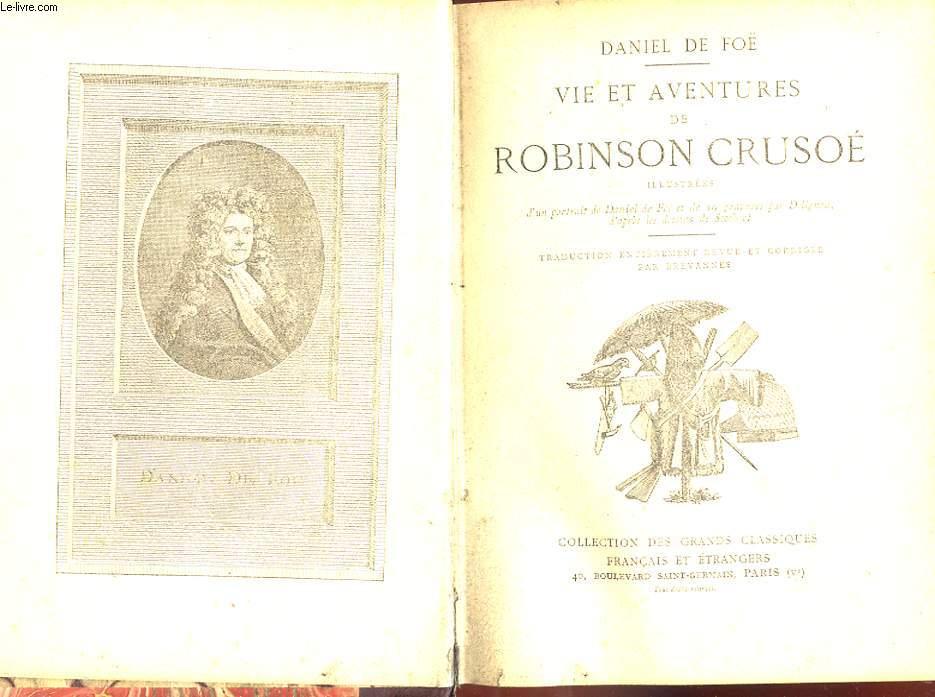 VIE ET AVENTURES DE ROBINSON CRUSOE.