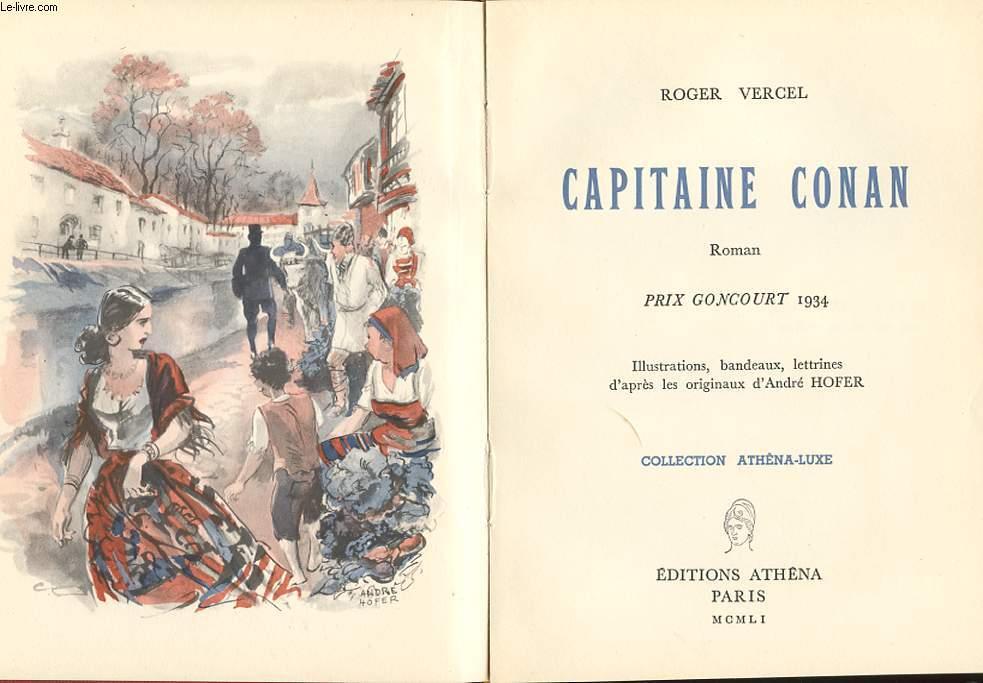 CAPITAINE CONAN. ROMAN.