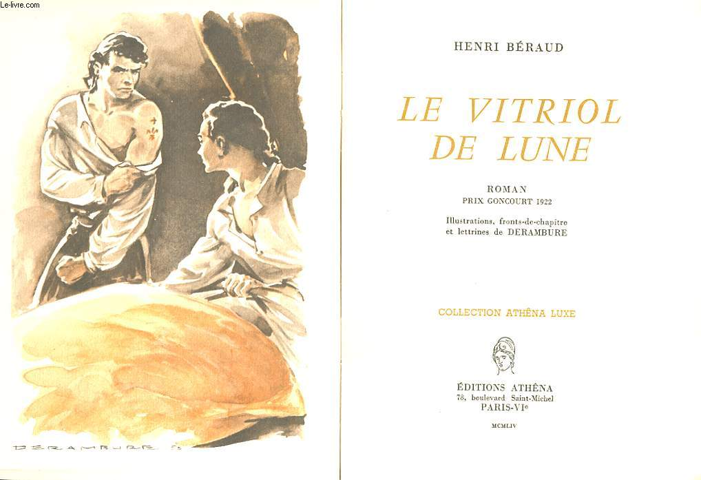 LE VITRIOL DE LUNE