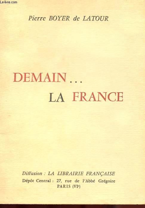 DEMAIN... LA FRANCE