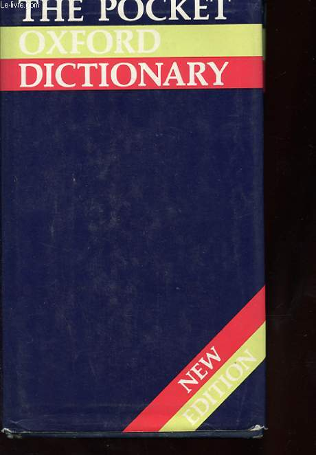 THE POCKET OXFORD DICTIONARY OF CURRENT ENGLISH.
