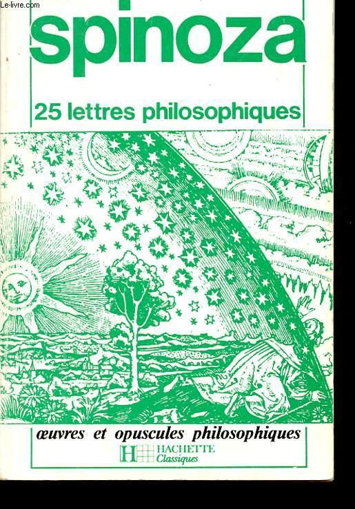 25 LETTRES PHILOSOPHIQUES.
