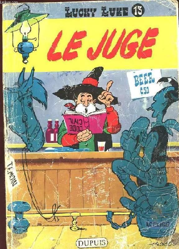 LUCKY LUKE N°13. LE JUGE