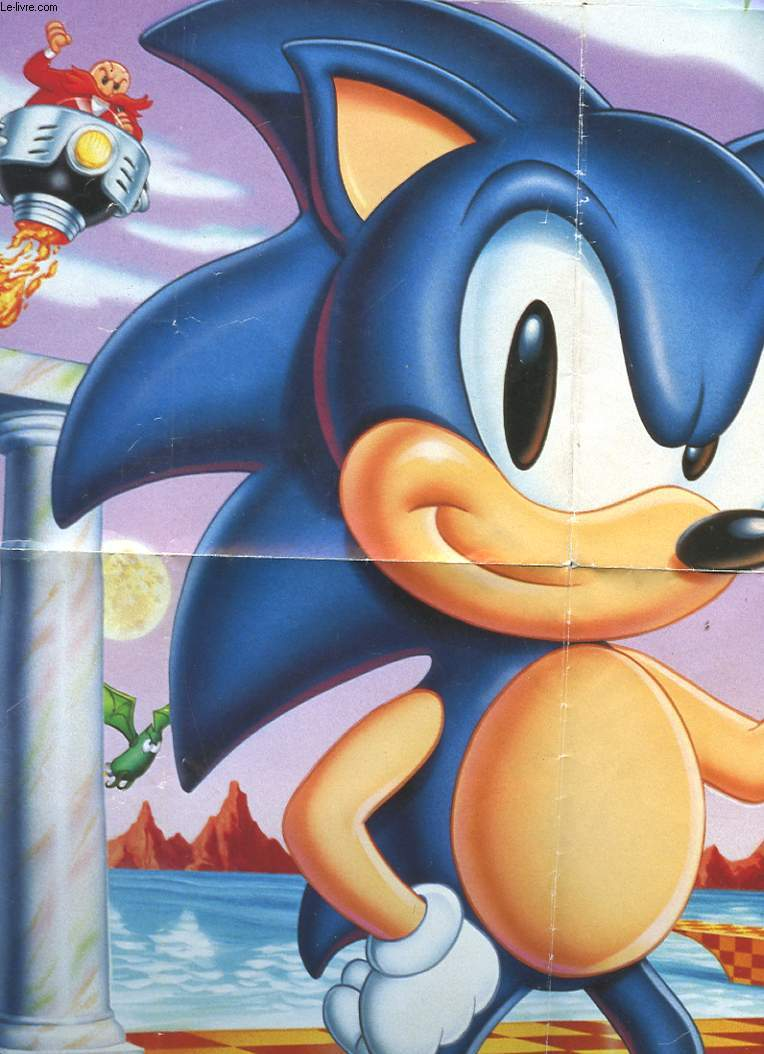 UN POSTER DE SONIC THE HEDGEHOG
