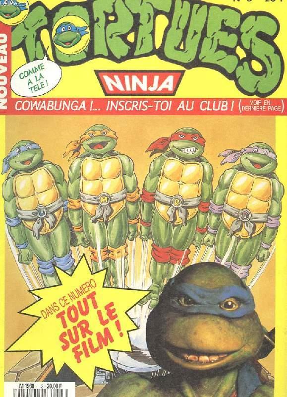 Nouveau tortue ninja n 3 cowabunga tout sur le film un poster en couleurs collectif - Tortue ninja couleur ...