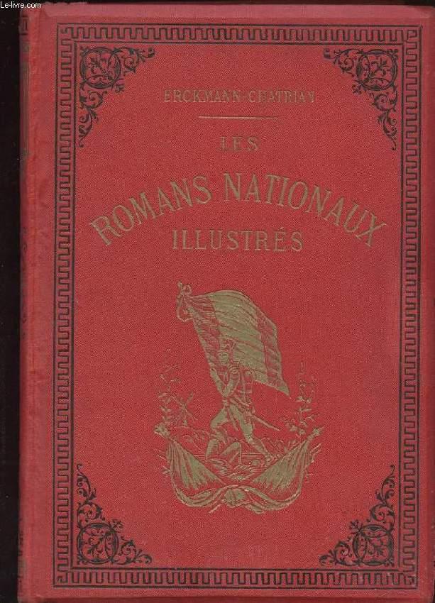 CONTES ET ROMANS NATIONAUX. LE CONSCRIT DE 1813. MADAME THERESE. L'INVASION. WATERLOO. L'HOMME DU PEUPLE. LA GUERRE. LE BLOCUS