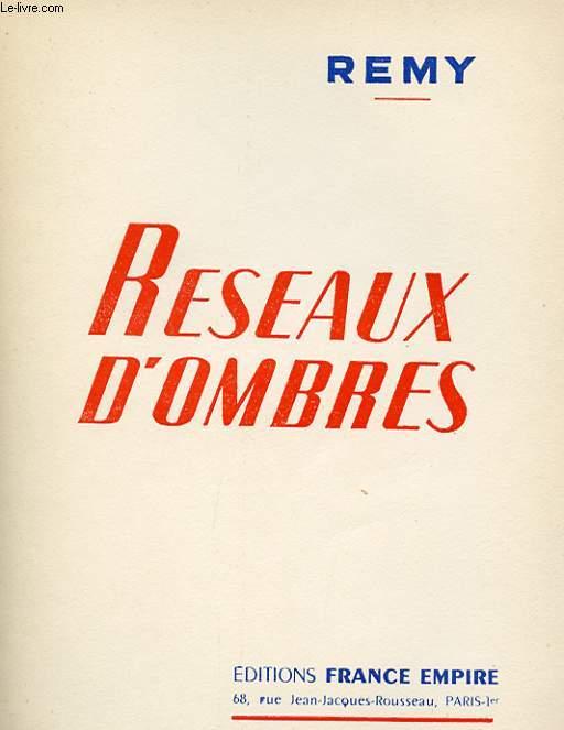 RESEAUX D'OMBRES.