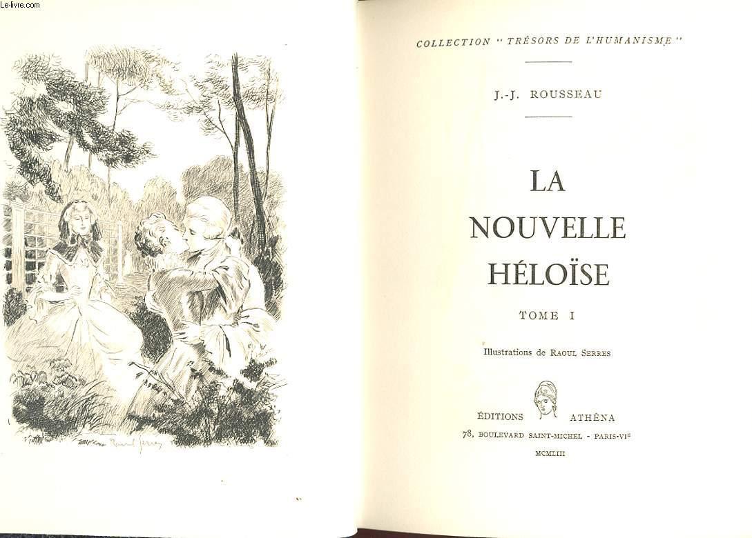 LA NOUVELLE HELOISE.  TOME 1.