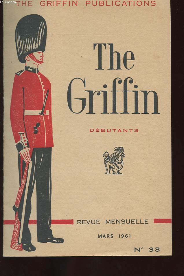 THE GRIFFIN. DEBUTANTS. N°33. BEAUTY AND THE BEAST