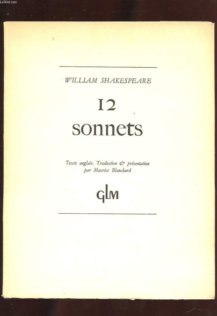 12 SONNETS