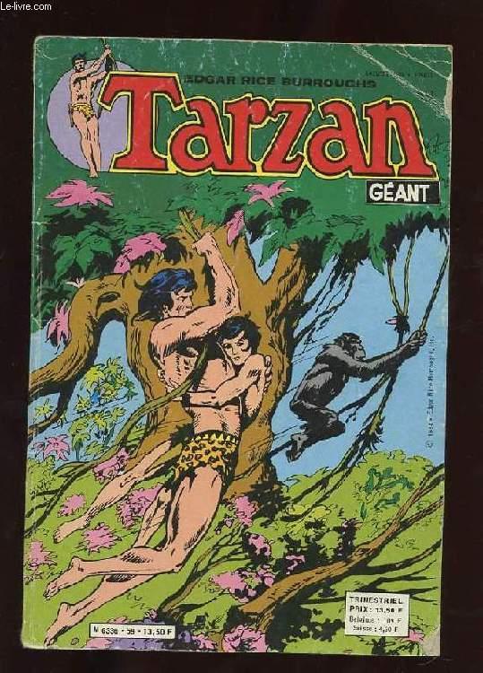 TARZAN GEANT N°59. LA BALLE D'OR