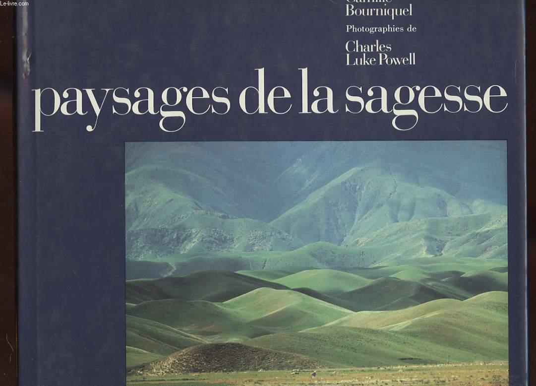 PAYSAGES DE LA SAGESSE