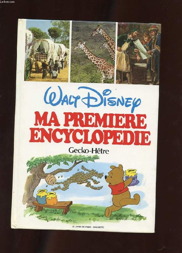 MA PREMIERE ENCYCLOPEDIE.  VOLUME 10. GECKO-HETRE