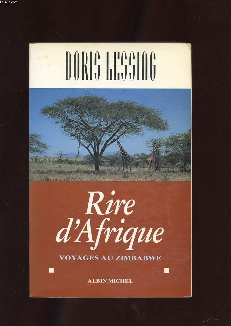 RIRE D'AFRIQUE. VOYAGES AU ZIMBABWE