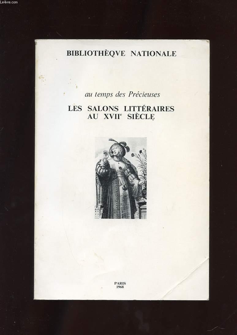 LES SALONS LITTERAIRES AU XVIIe SIECLE
