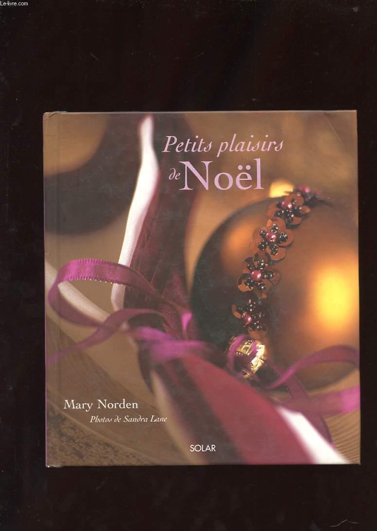 PETITS PLAISIRS DE NOEL