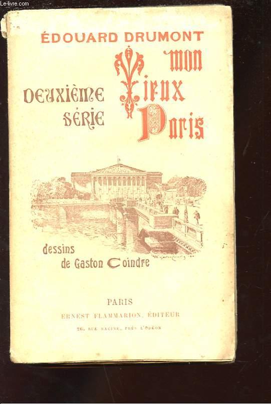 MON VIEUX PARIS. DEUXIEME SERIE