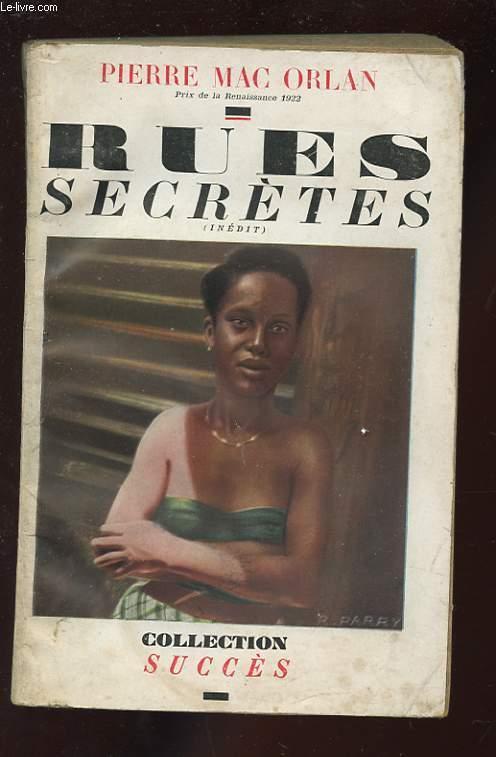 RUES SECRETES