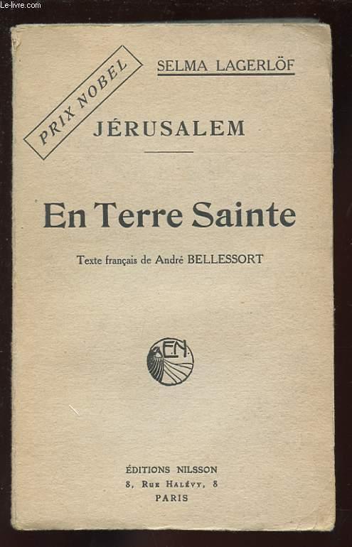 JERUSALEM. EN TERRE SAINTE