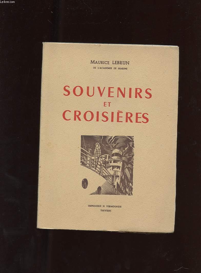 SOUVENIRS ET CROISIERES