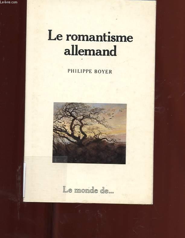 LE ROMANTISME ALLEMAND