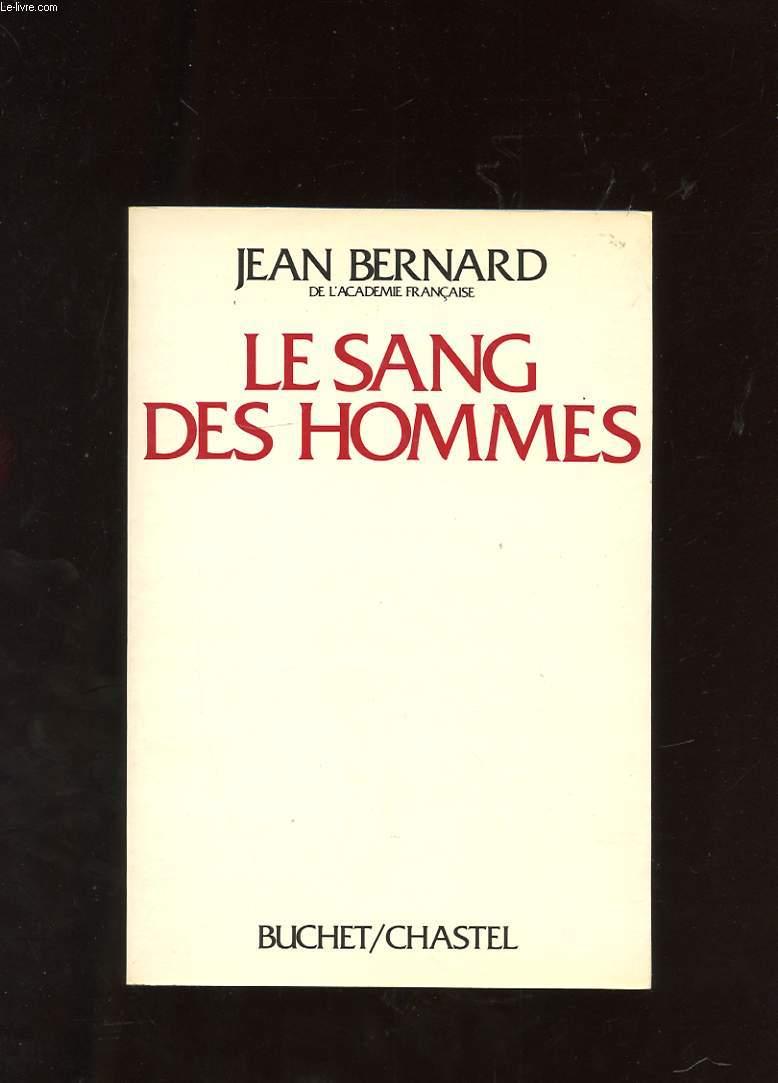 LE SANG DES HOMMES