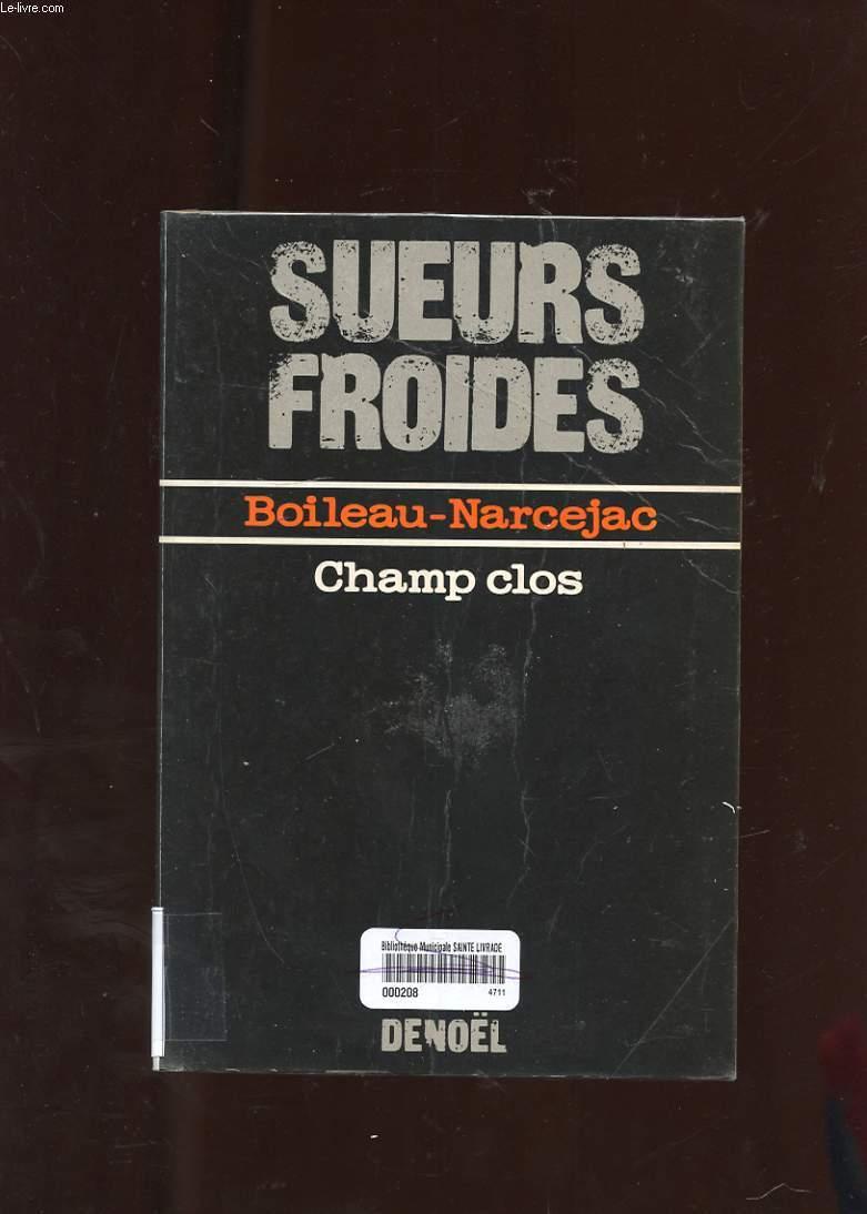 CHAMP CLOS. ROMAN