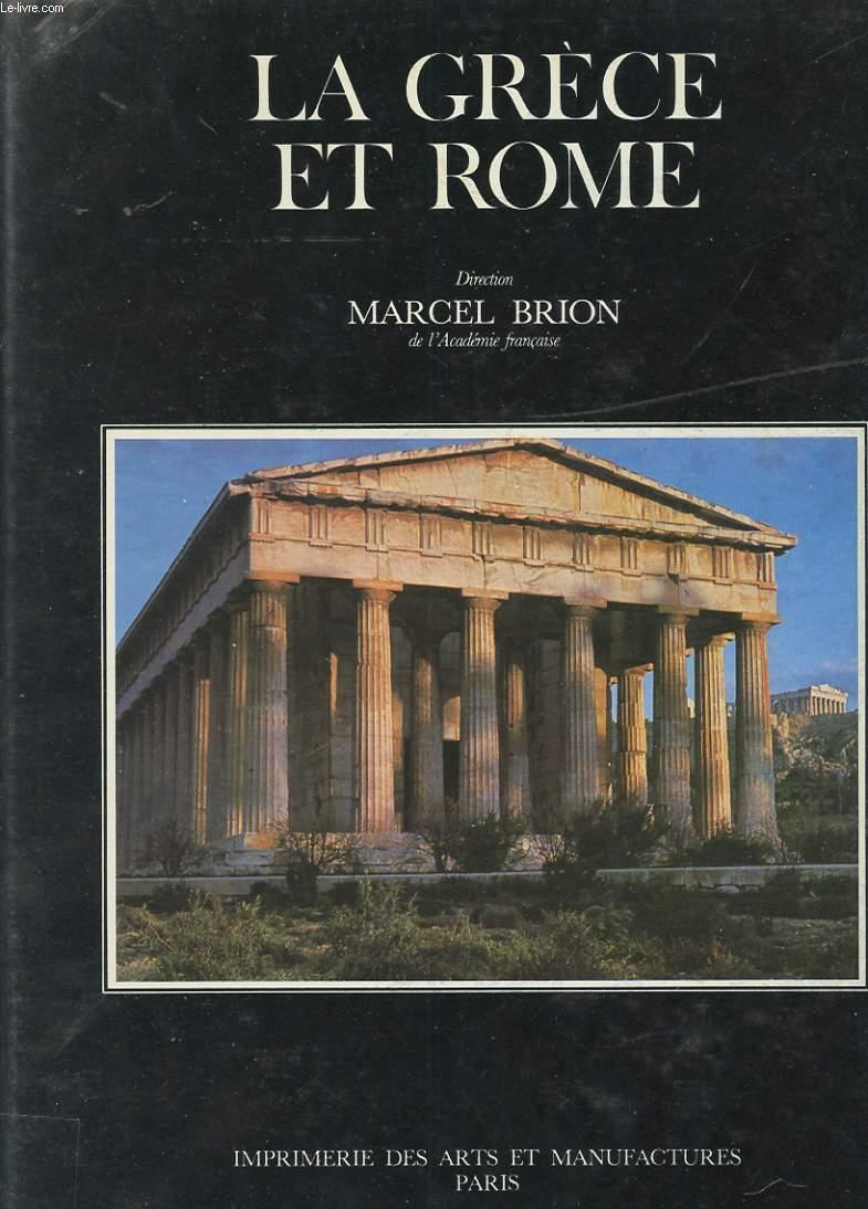 ENCYCLOPEDIE DE LA CIVILISATION. LA GRECE ET ROME