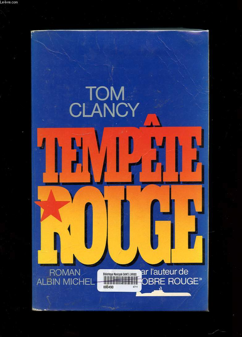 TEMPETE ROUGE. ROMAN