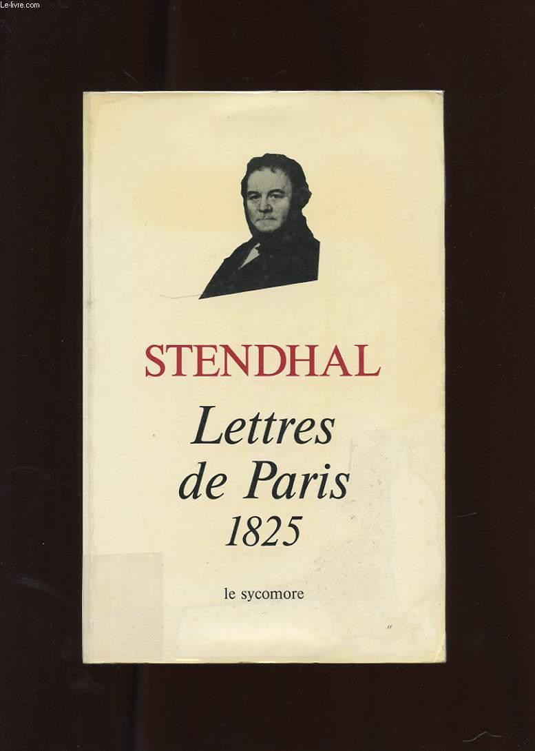 LETTRES DE PARIS PAR LE PETIT-FILS DE GRIMM. CHRONIQUES 1825-1829 TOME 1.