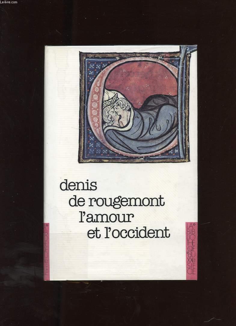 L'AMOUR ET L'OCCIDENT