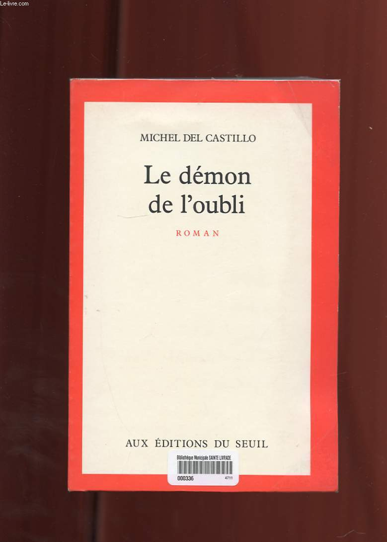 LE DEMON DE L'OUBLI