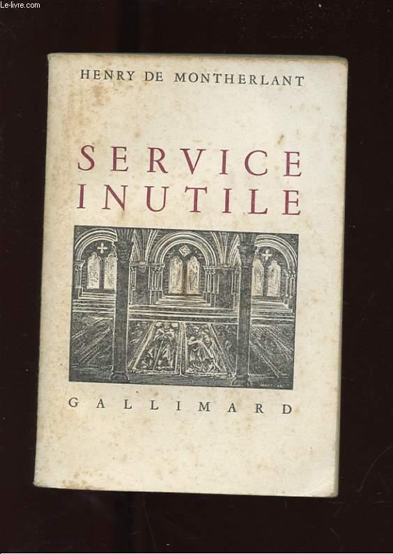 SERVICE INUTILE